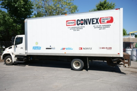 Convex Delivery Truck